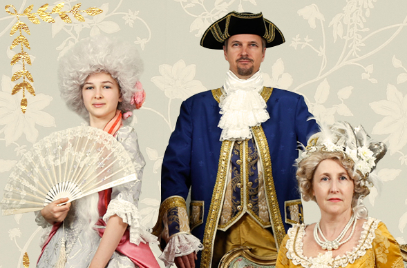 Costumes Versailles